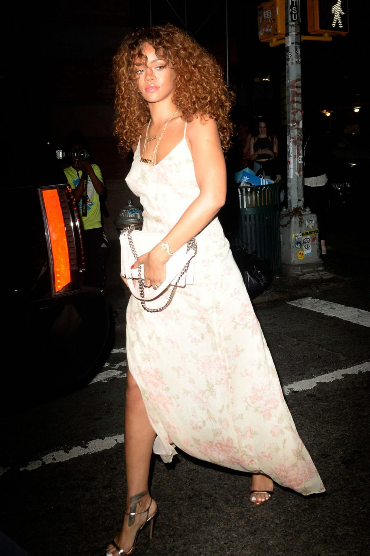 night out style outside the mercer kitchen in new york city