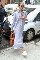Rihanna - Out in New York City, July 2015