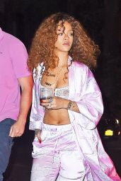 Rihanna Summer Style - Outside Recording Studio in New York City, July 2015