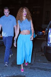 Rihanna - Up & Down Nightclub in West Village, July 2015
