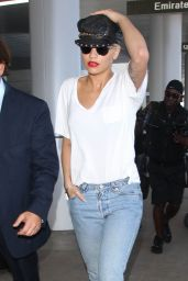 Rita Ora Airport Style - At LAX airport in Los Angeles, July 2015