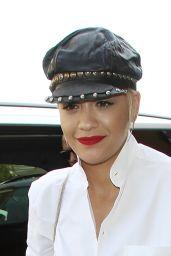 Rita Ora Casual Style - London, July 2015