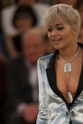 Rita Ora - Chanel Fashion Show at Fashion Week in Paris - July 2015