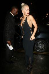 Rita Ora Night Out Style - London, July 2015