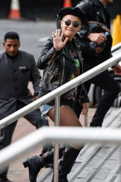 Rita Ora - Outside a Hotel in Manchester, July 2015
