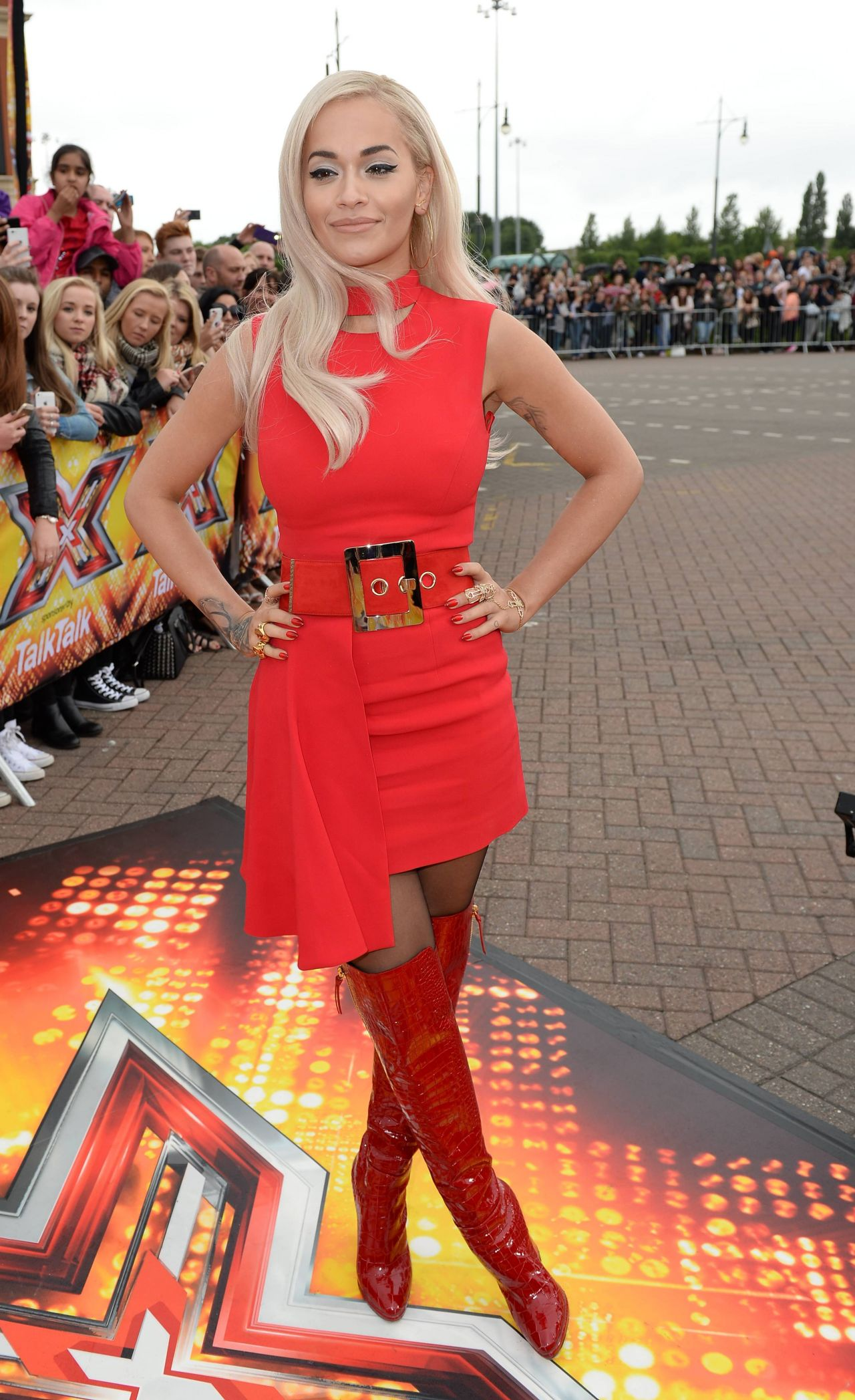 Rita Ora The X Factor Auditions In Manchester July 2015