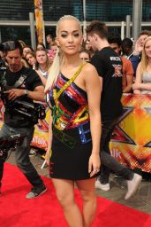 Rita Ora - X Factor Auditions in London, July 2015