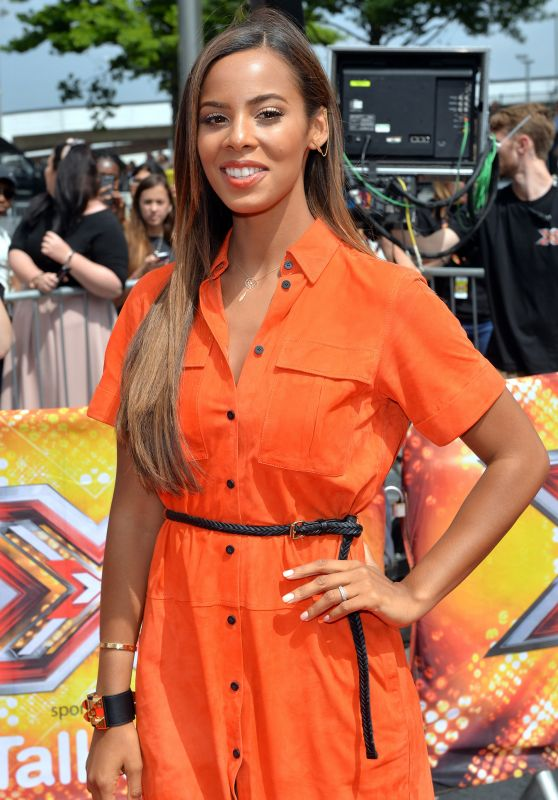 Rochelle Humes - London Auditions of The X Factor, July 2015