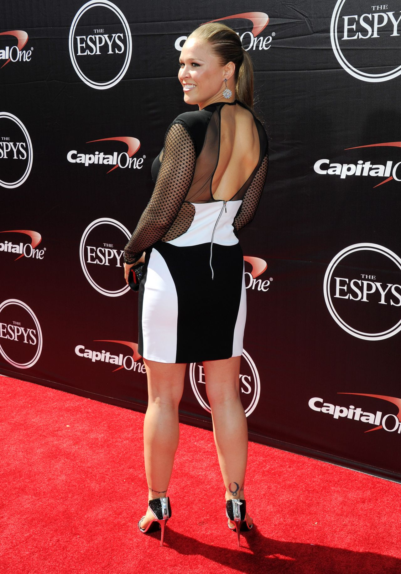 Ronda Rousey Is Hot 2015 ESPYS In Los Angeles