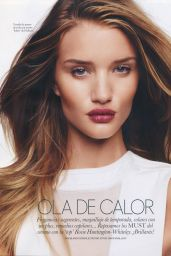 Rosie Huntington-Whiteley - Elle Magazine Spain June 2015 Issue