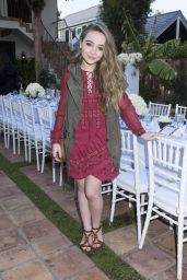 Sabrina Carpenter – Just Jared & JustFab Summer Dinner Party in Malibu – July 2015