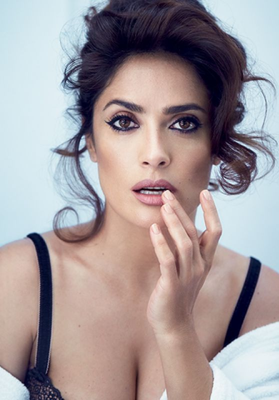 Salma Hayek - Allure Magazine August 2015