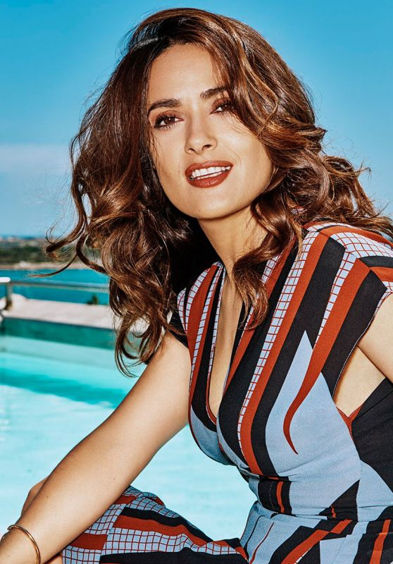 Salma Hayek - Photoshoot for Grazia Magazine Italy July 2015