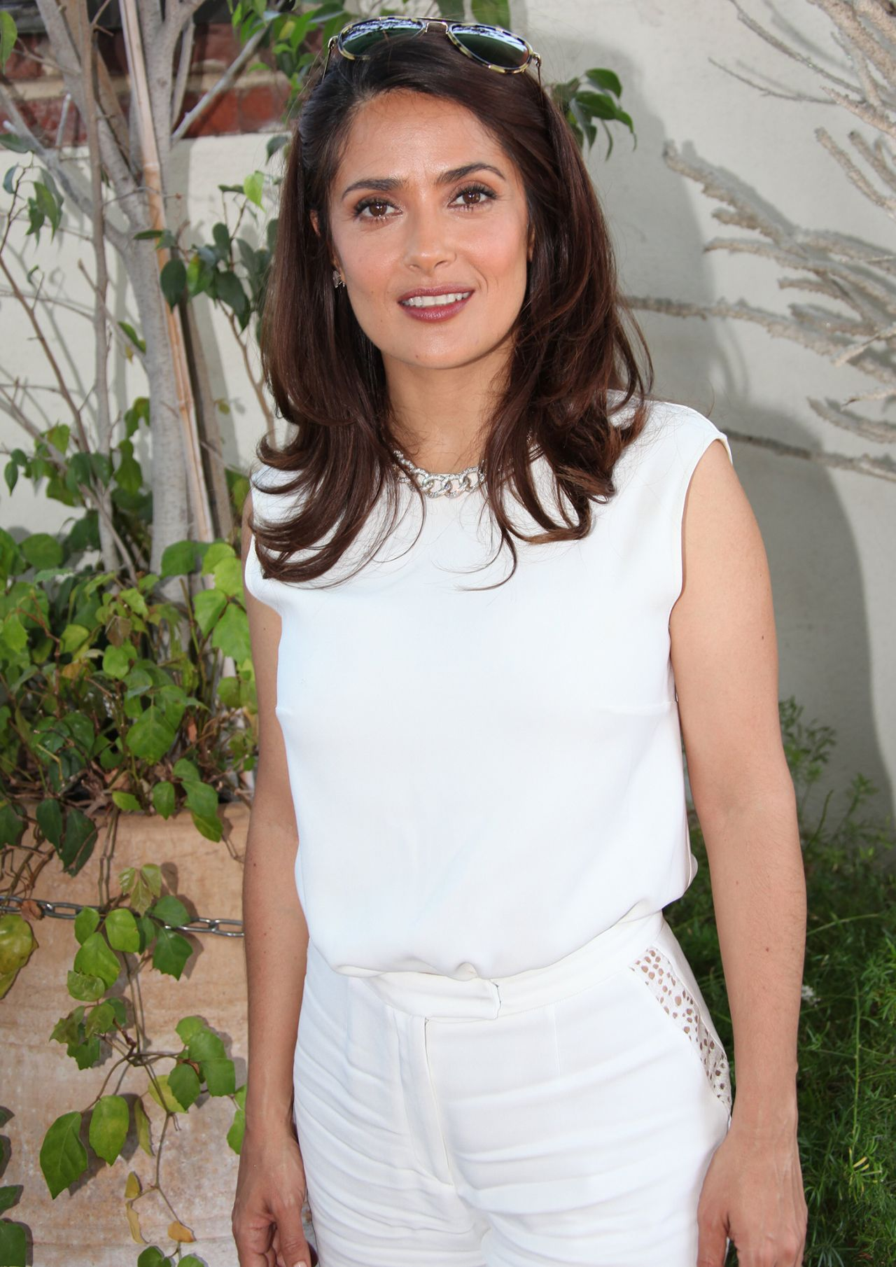 Salma Hayek – The Prophet Press Conference Portraits