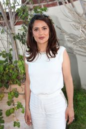 Salma Hayek - The Prophet Press Conference Portraits