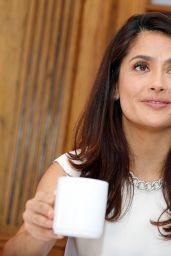 Salma Hayek - The Prophet Press Conference Portraits