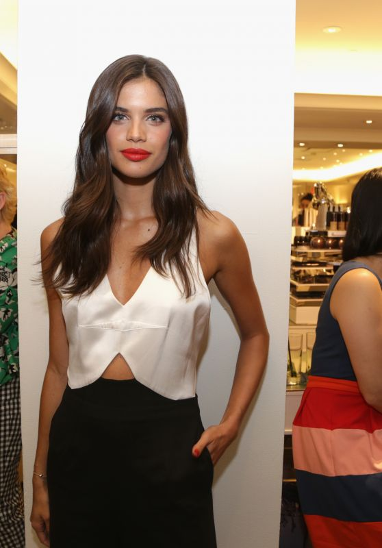 Sara Sampaio - Celebration of the Norman Parkinson Collaboration at Bergdorf Goodman in New York City
