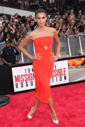Sara Sampaio – Mission Impossible: Rogue Nation Premiere in New York City
