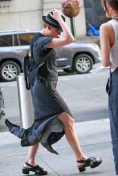 Scarlett Johansson Street Style - Out and About in New York City, July 2015