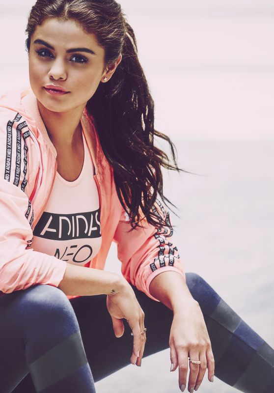 Selena Gomez – Adidas Neo Fall/Winter 2015 - Part 2