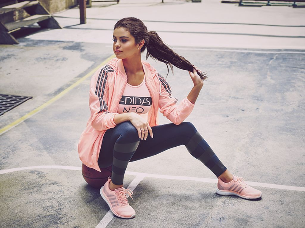 Selena Gomez Adidas Neo Fall Winter 2015 Part 2