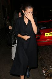 Selena Gomez Night Out Style - Leaving the Chiltern Firehouse in London, July 2015