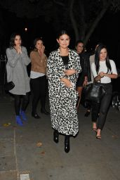 Selena Gomez Night Out Style - London, July 2015