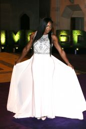 Serena Williams - Wimbledon Champions Dinner at the Guildhall in London, July 2015