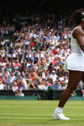 Serena Williams – Wimbledon Tournament 2015 – Quarterfinal