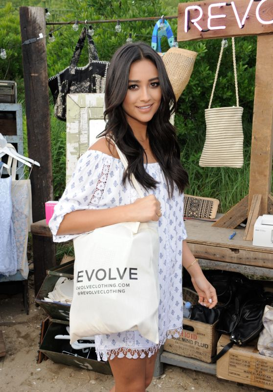 Shay Mitchell - REVOLVE Pop-Up Launch Party in Montauk, New York, July 2015
