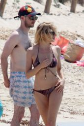 Sienna Miller Hot BIkini Pics - Formentera, Spain, July 2015