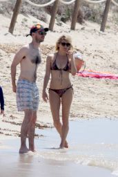 Sienna Miller Hot BIkini Pics - Formentera, Spain, July 2015