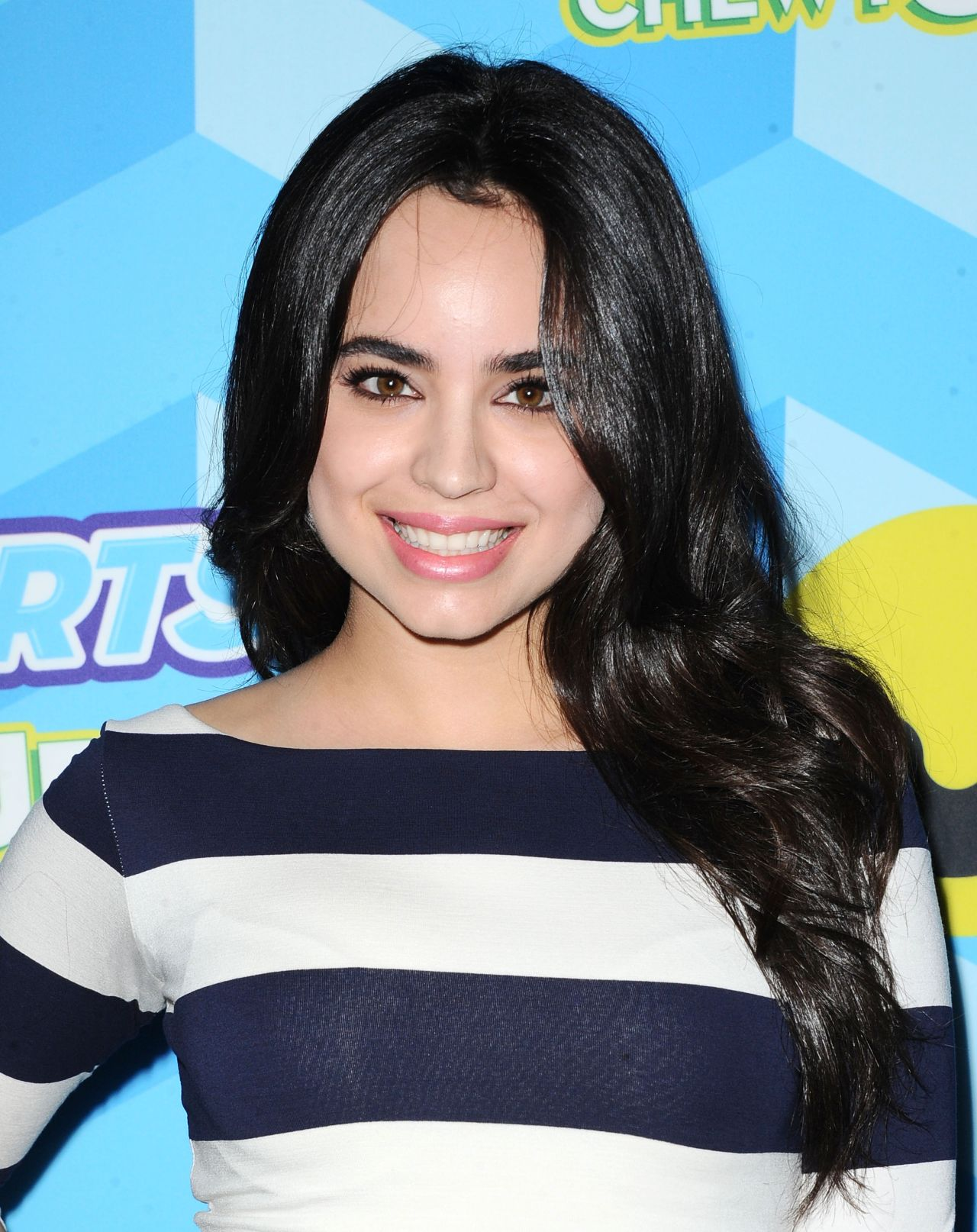 Sofia Carson 2015 Just Jared Summer Bash Pool Party In