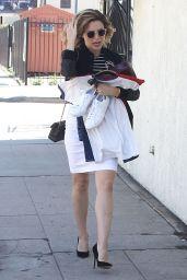 Sophia Bush Casual Style - LA, July 2015