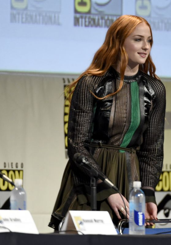 Sophie Turner – Game of Thrones Panel – 2015 Comic Con in San Diego