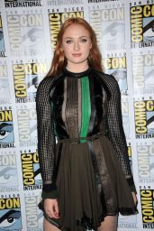 Sophie Turner - Game of Thrones Press Line - 2015 Comic Con in San Diego