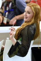 Sophie Turner - Game of Thrones Signing - 2015 Comic Con in San Diego