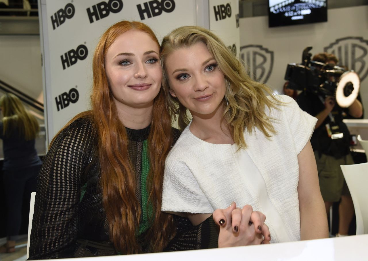 game of thrones signing comic con 2015