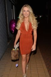 Sophie Whitaker - Celebrates Her Birthday at CTZN Bar in Essex - June 2015