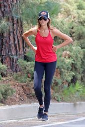 Stacy Keibler - Out For a Walk in Beverly Hills, June 2015