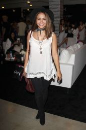 Stella Hudgens - 2015 BeautyCon in Los Angeles