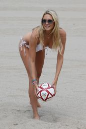 Stephanie Pratt in a White Bikini - The Hamptons, New York, July 2015