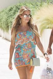 Sylvie Meis Summer Style - With Her Friend in Ibiza, July 2015