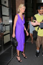 Tara Reid Style - Leaving her Hotel in New York City, July 2015