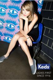Taylor Swift - Photoshoot for Keds 2015