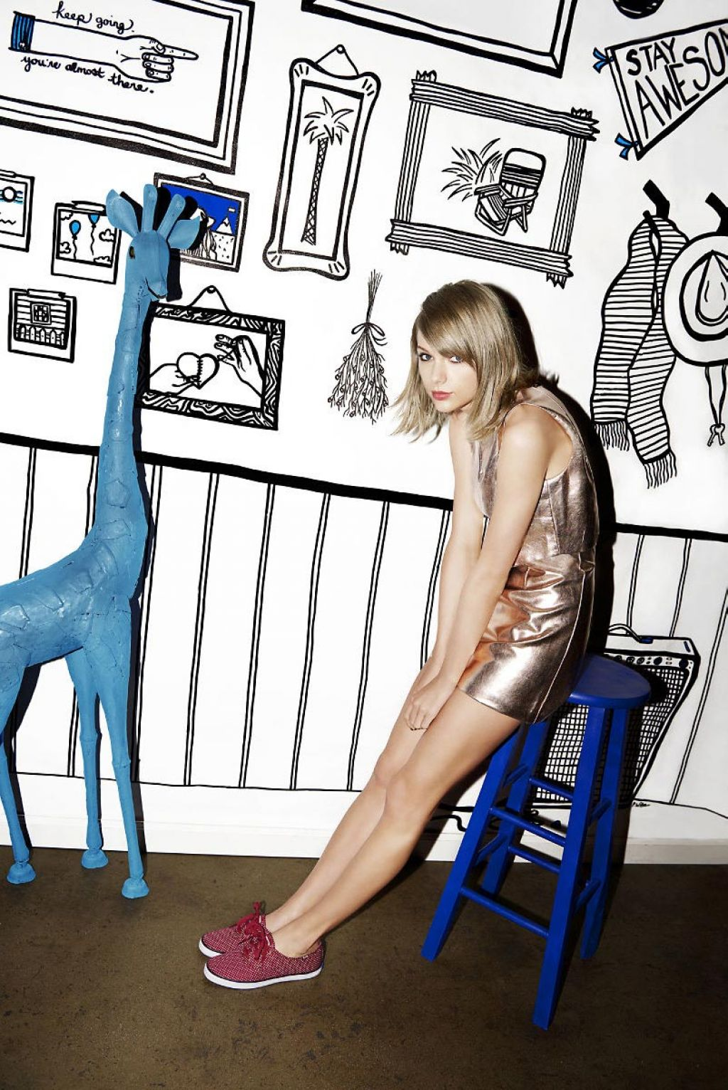 Taylor Swift Photoshoot For Keds 2015