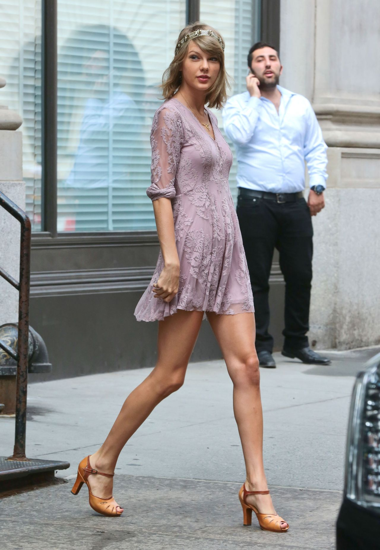 Taylor Swift Street Fashion Out In New York City July 2015