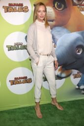 Uma Thurman - Launch of Dino Tales and Safari Tales at the American Museum of Natural History in New York City