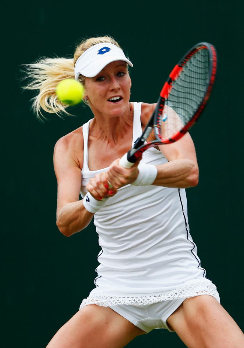 Urszula Radwanska Wimbledon Tournament 2015 Second Round