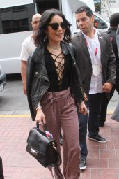 Vanessa Hudgens - Arriving at Comic-Con in San Diego, July 2015